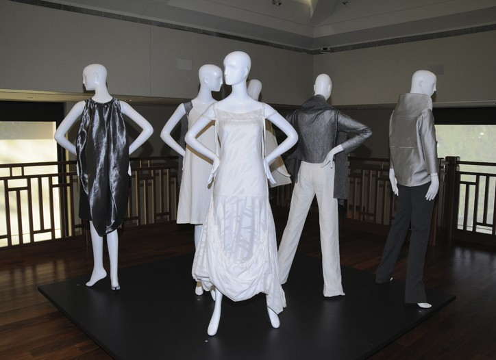 Looks from the Yeohlee Teng exhibit.