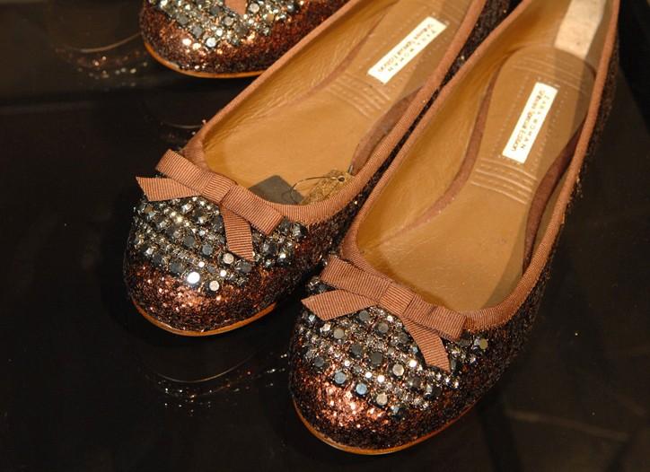 The exlusive Zara shoes.