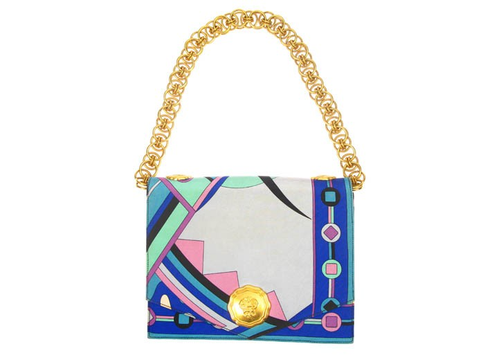A vintage Pucci bag at Atelier-Mayer.com.