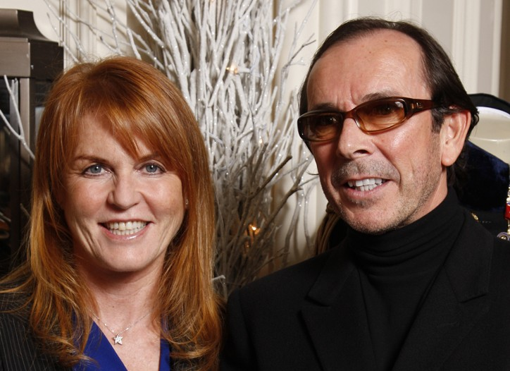 Duchess Sarah Ferguson and Clive Christian