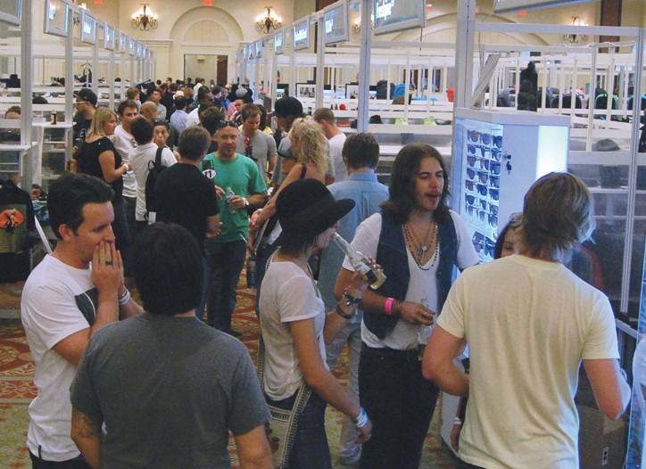 The Agenda show has relocated to Huntington Beach, Calif.