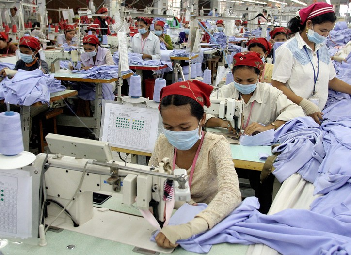 Cambodia has seen 70 factories close in the last 12 months.
