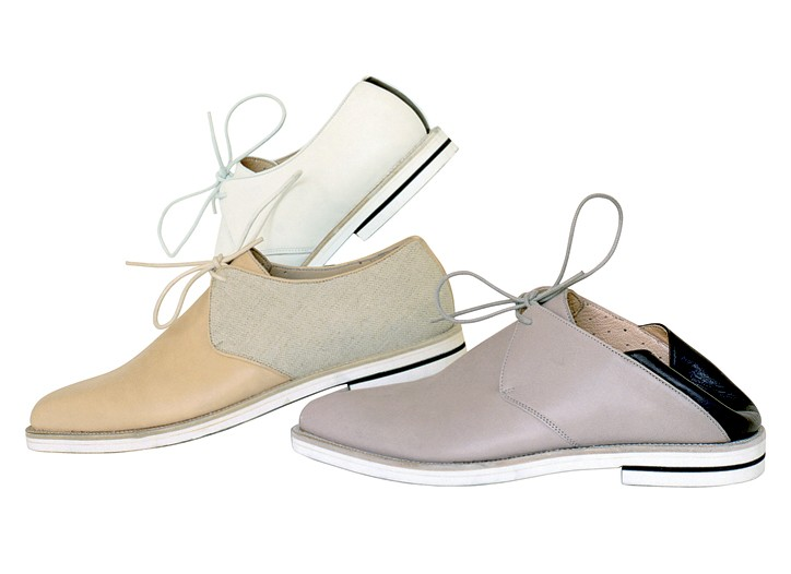 Branquinho's designs for Camper will retail for $375 to $400.