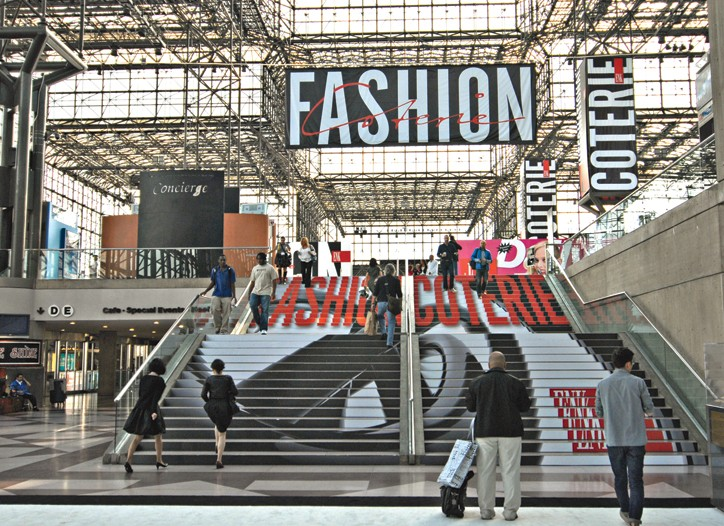 Coterie is the largest of the New York shows.