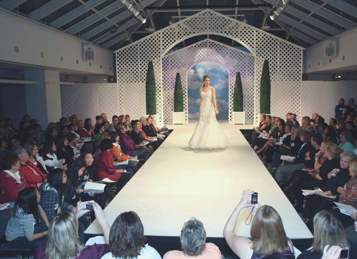 The National Bridal Market runs March 21 to 23.