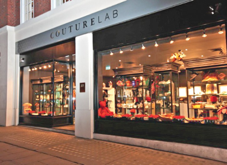 CoutureLab in Mayfair.