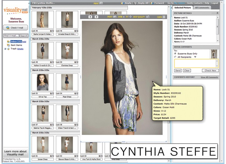 A sample e-mail from Cynthia Steffe.