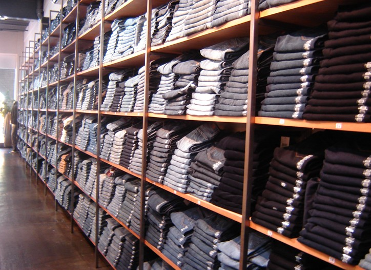 Denim sales at boutiques started to rise after the back-to-school season.
