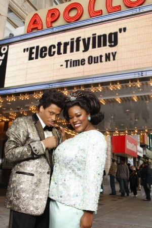 """Dreamgirls"" stars Chester Gregory and Moya Angela in William Ivey Long's costumes."