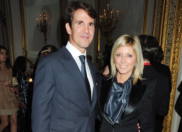 Prince Pavlos and Princess Marie-Chantal of Greece.