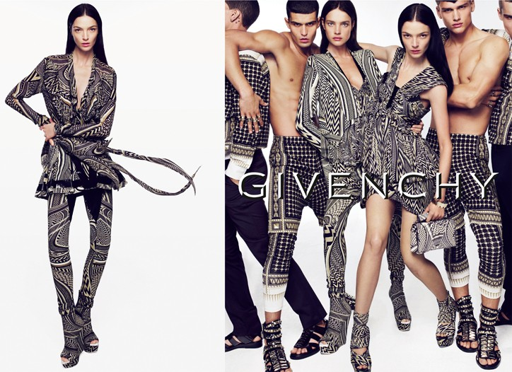 Spring ads for Givenchy.