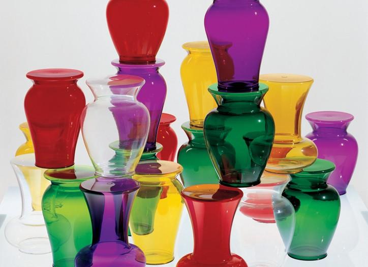 Kartell Boheme gruppo vases