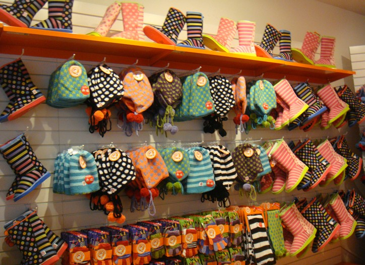 A display in the new Little MissMatched store in Chicago.