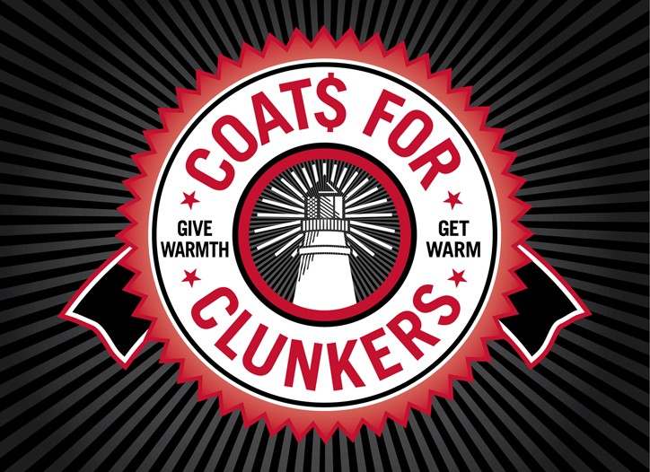 Weatherproof is partnering with New York Cares this month to present Coats for Clunker.