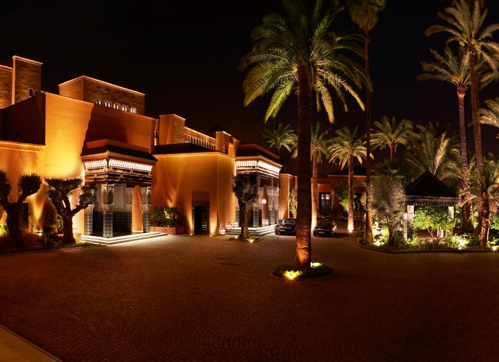 The La Mamounia Hotel in Marrakech.