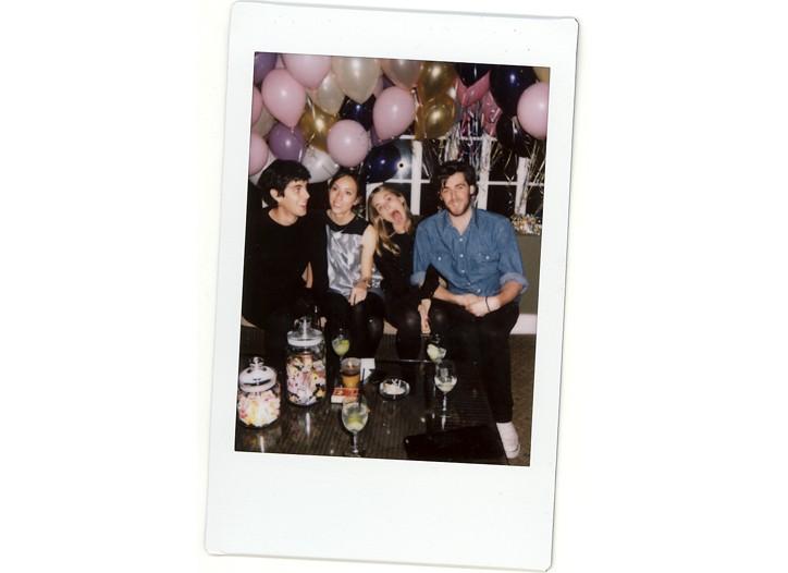 Sam Freilich, Gia Coppola, Nathalie Love and Daniel Pappas.