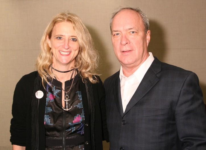 Nanette Lepore and Robert Savage