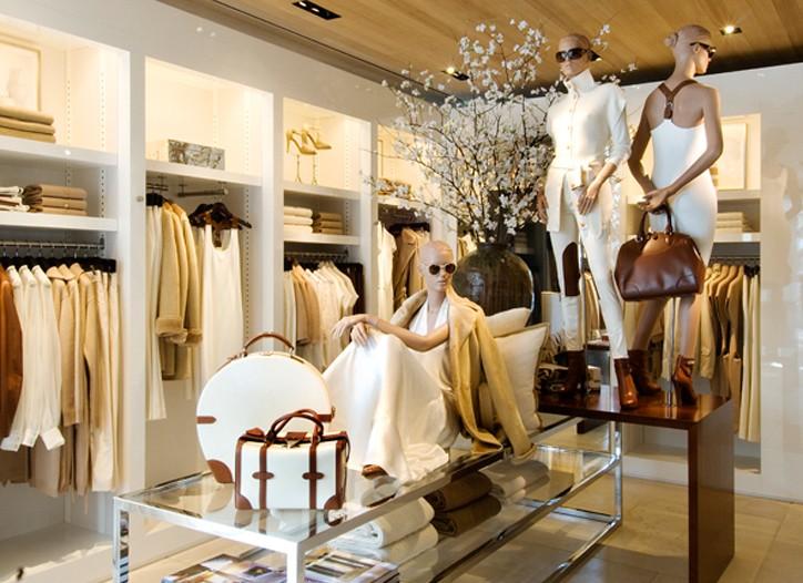 Ralph Lauren St. Moritz store.