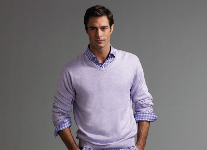 The Saks Fifth Avenue Men's Collection has been popular since its fall introduction.