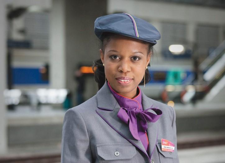 An SNCF uniform by Christian Lacroix.
