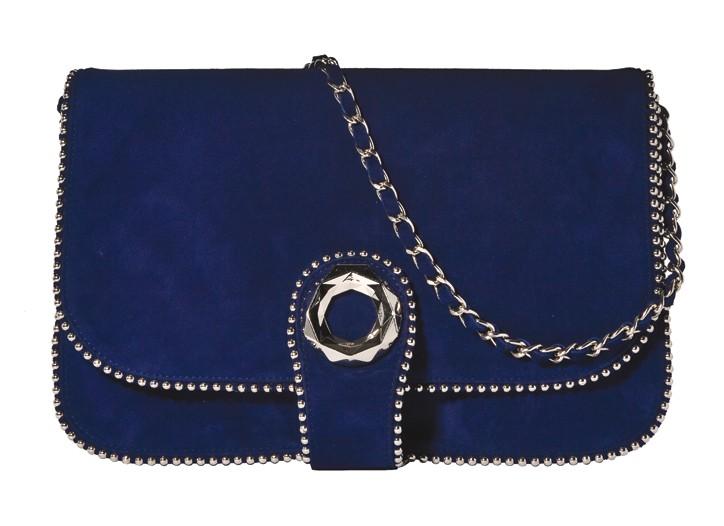 A handbag from Stuart Weitzman.