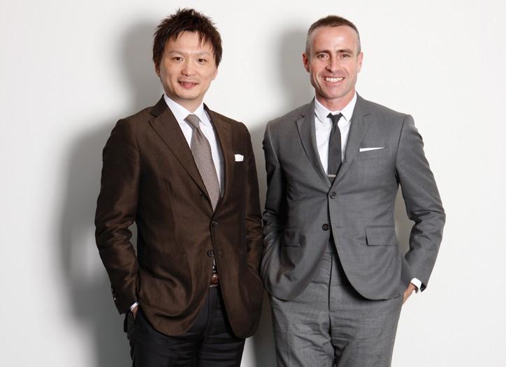 Thom Browne and Yasuharu Ishikawa