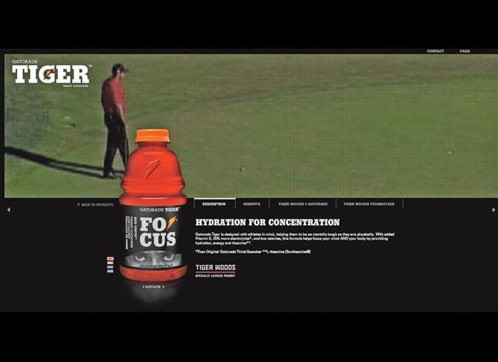 Gatorade has dropped its Tiger Focus drink.