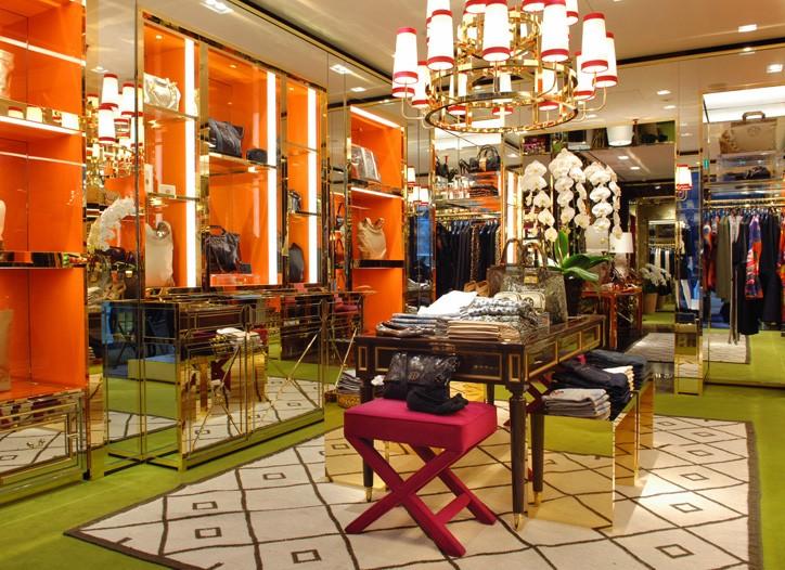 Tory Burch store in Ginza, Tokyo.