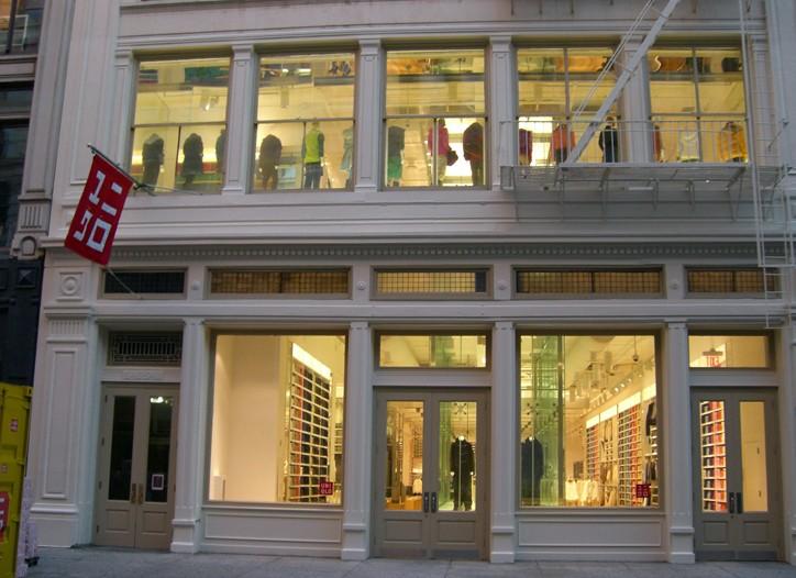 Uniqlo storefront