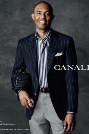 Mariano Rivera for Canali.