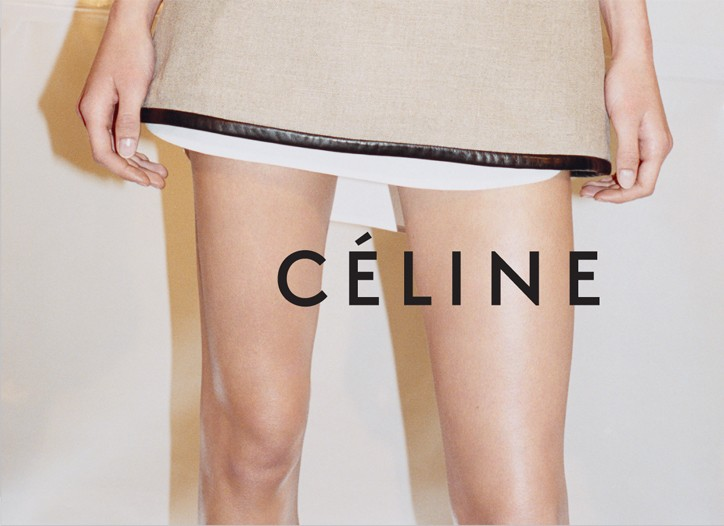 The Celine campaign.
