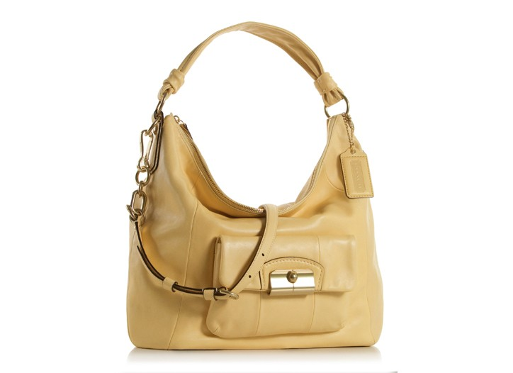 From Coach's new Kristen collection, $398, that will launch in March.