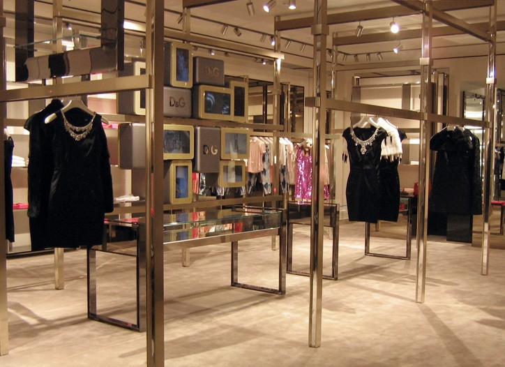 Inside the new D&G.