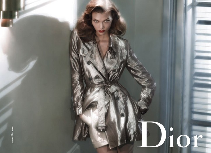 An image from Dior's fashion campaign.