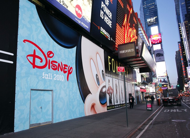 Disney will have a store in Times Square for the first time since 2000.