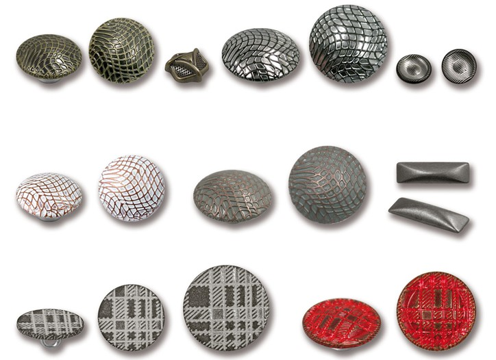 A selection of eco-friendly buttons.