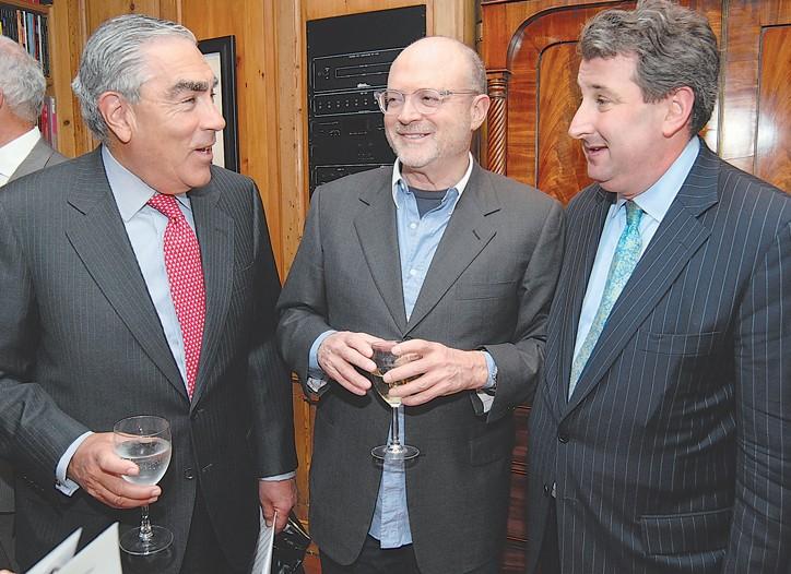 Gilbert Harrison, Millard Drexler and William Susman.
