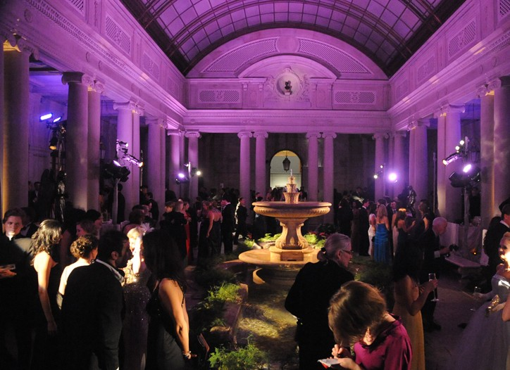 The scene at last year's Frick Museum benefit.