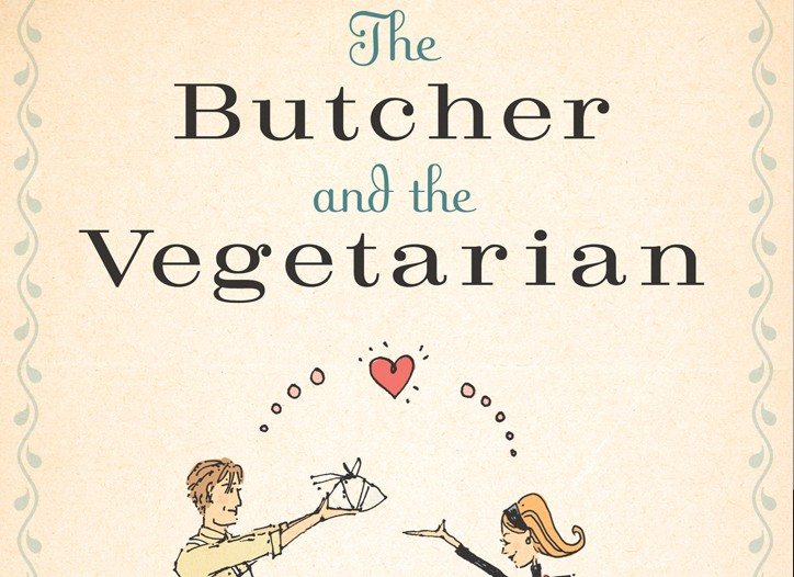 "Tara Austen Weaver's book ""The Butcher and the Vegetarian."""