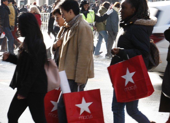 Last-minute shopping is expected to help lift December sales results.