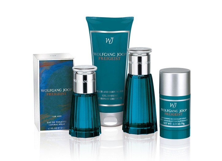 Wolfgang Joop and Coty Prestige signature men's scent, Freigeist.