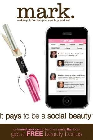 The iPhone app for Avon's Mark brand.