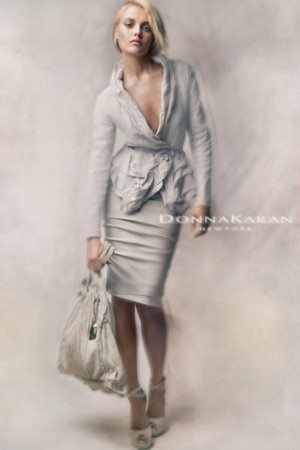 A Donna Karan ad for spring.