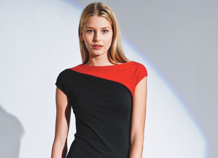 A look from Narciso Rodriguez line for eBay.
