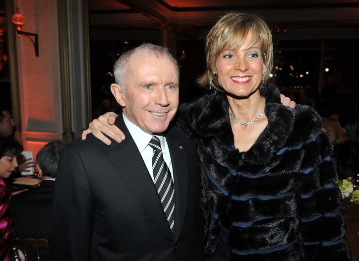 François Pinault and Hélène Arnault