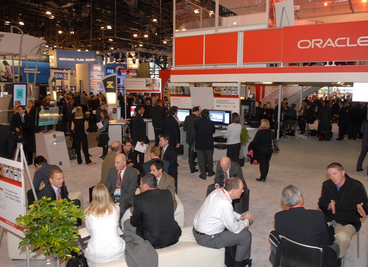 The show floor at NRF this year.