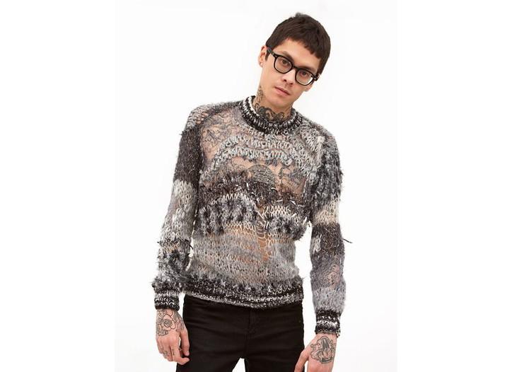 Rodarte men's sweater