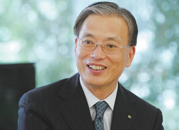 Shinzo Maeda, president and chief executive officer of Shiseido.