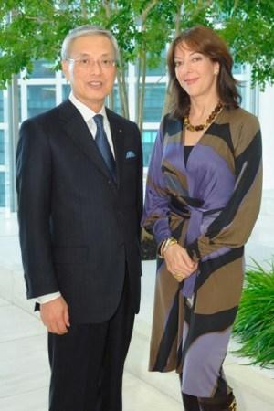 Shinzo Maeda and Leslie Blodgett