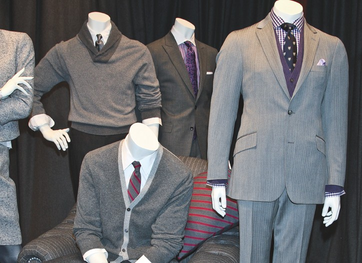 Looks from the Brooks Brothers fall collection.